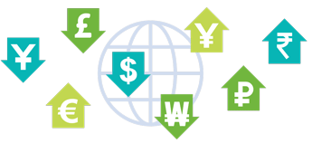 Image showing various currency Symbols