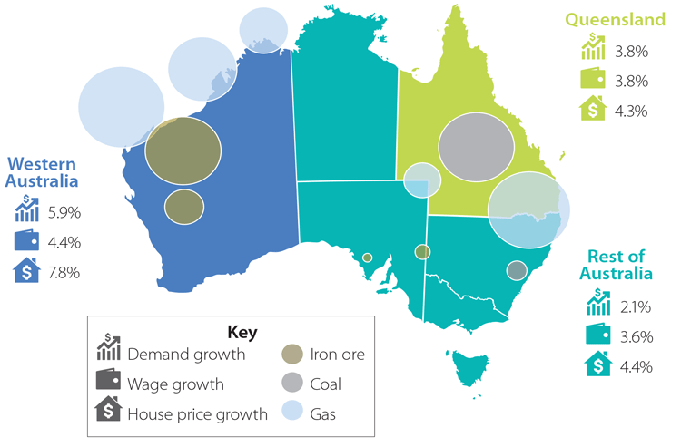 Mining investment australia map with cities damille investments dividend
