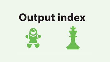 Output index