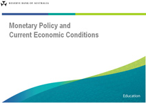 Presentation slide: Monetary Policy and Current Economic Conditions