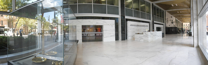 Museum Of Sydney Foyer : The reserve bank in community of