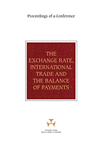 Cover: The Exchange Rate, International Trade and the Balance of Payments
