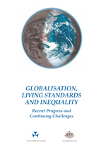 Cover: Globalisation, Living Standards and Inequality: Recent Progress and Continuing Challenges