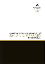 Cover: Reserve Bank of Australia 50th Anniversary Symposium
