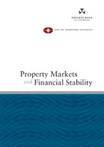Cover: Property Markets and Financial Stability