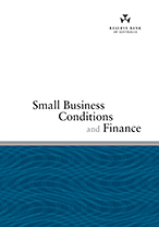 Cover: Small Business Conditions and Finance
