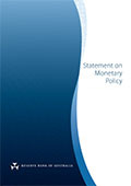 Statement on Monetary Policy cover